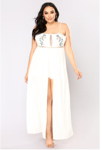 Malinda Maxi Dress ($31.98) - via Fashion Nova Curve